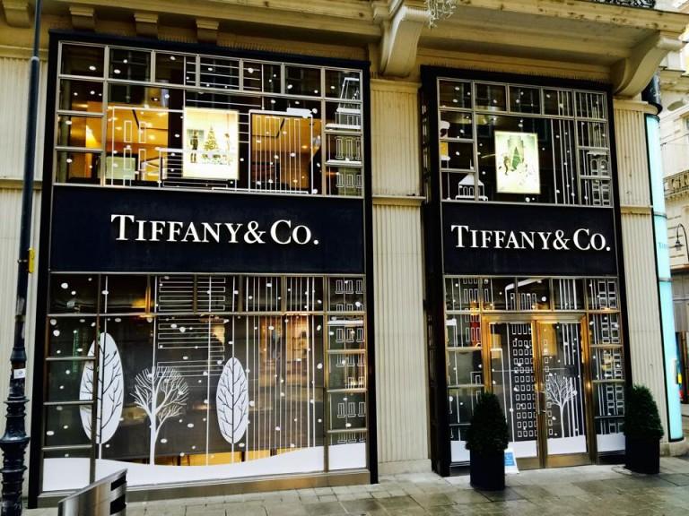 Auslagenfolierung Tiffany